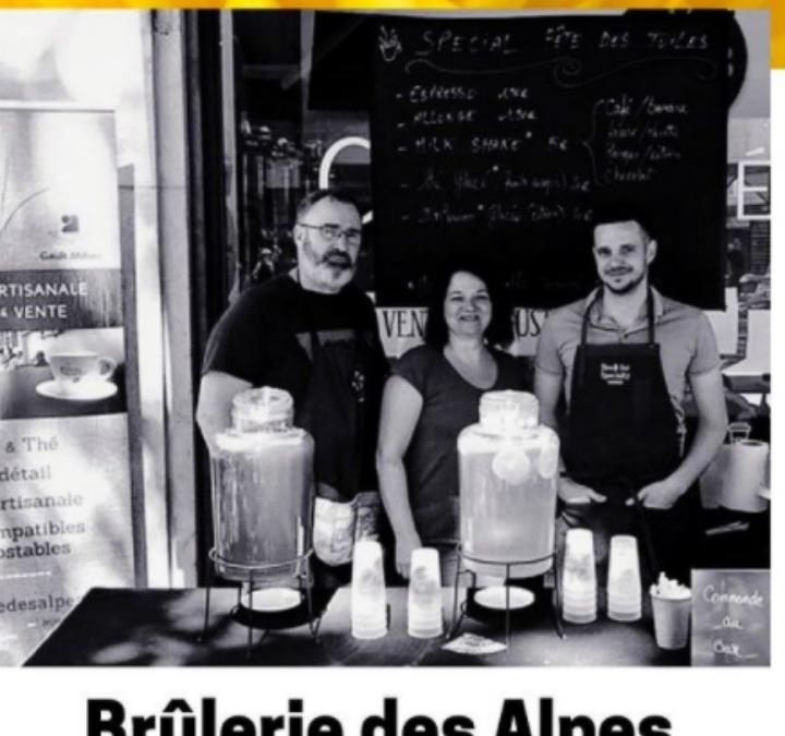 La torréfaction de la Brûlerie Des Alpes