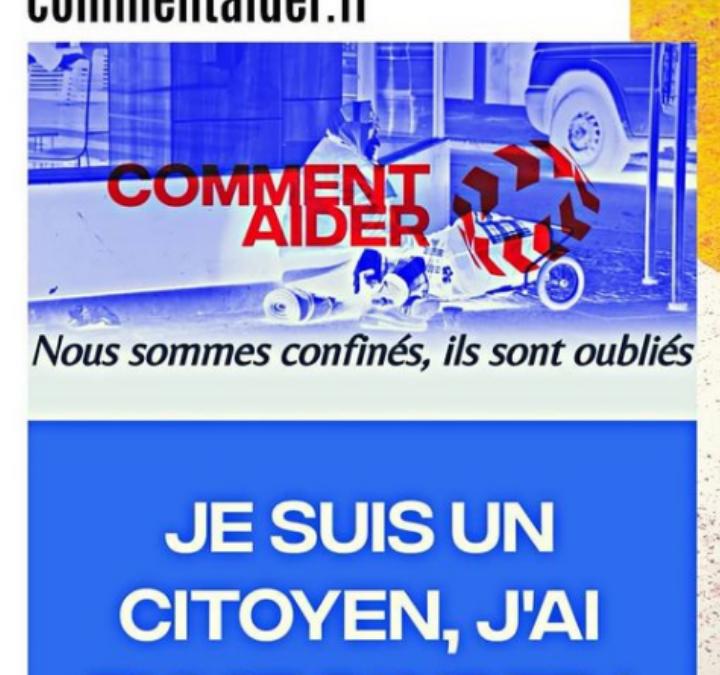 #COVID-19 : les citoyens de commentaider.fr viennent en aide aux associations