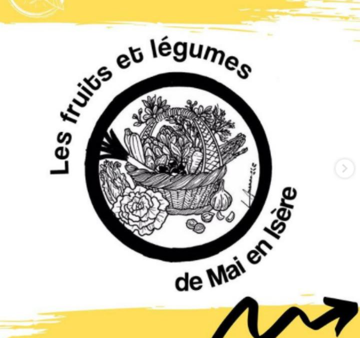 Les fruits et légumes de Mai en Isère
