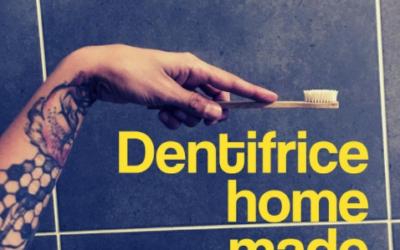 Recette : dentifrice naturel fait maison