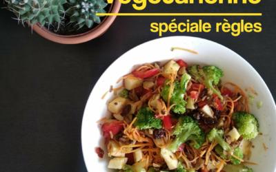 Recette végétarienne : SPECIALE règles